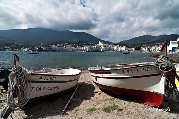 Barcas de Cadaqués (Girona)