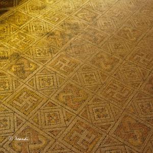 La Olmeda - mosaicos