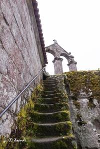 Escalera de subida al campanario