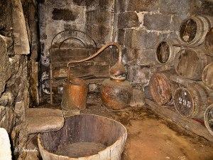 Utensilios destilación