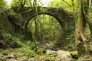 Puente sobre el río Senin (Caaveiro)