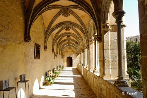 Ala lateral del claustro