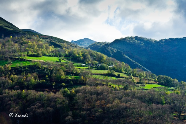 Aldea de O Courel (Galicia)
