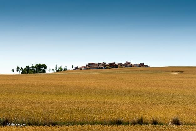 Pequeño pueblo de Castilla